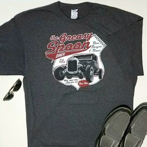 Greasy Spoon Diner Graphic Tee